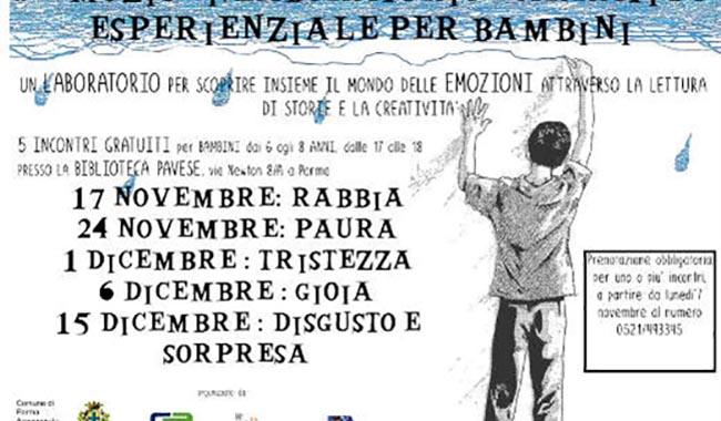 #EMOZIONI: LABORATORIO NARRATIVO ESPERENZIALE PER BAMBINI
