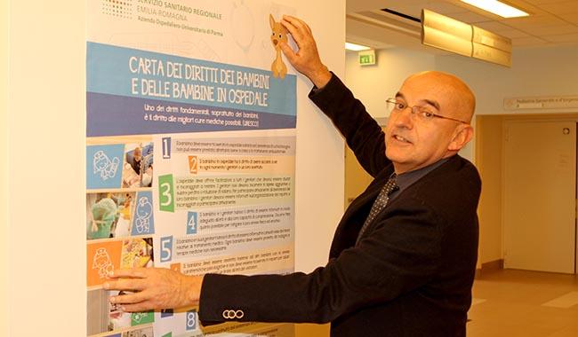"""Affissa in Ospedale la """"Carta dei Diritti dei Bambini e delle Bambine"""""""