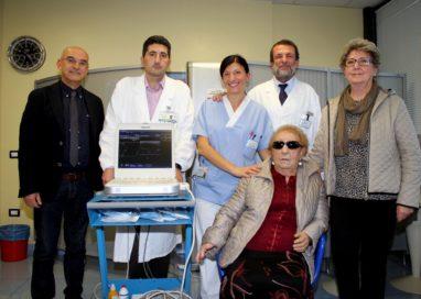 Ecotomografo donato ad Oncologia medica da una 85enne parmigiana