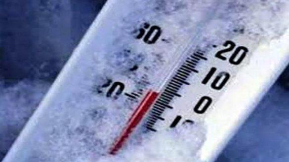 Prossima settimana sarà gelida, previsti fino a 8 gradi sotto lo 0