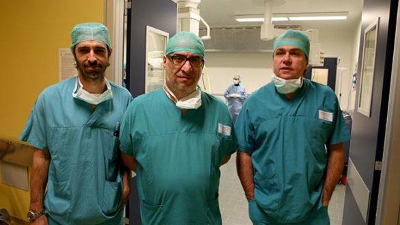 Al Maggiore il terzo caso in Italia di valvola aortica inserita per via ascellare