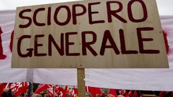 Sciopero generale del tessile, presidio alla Caruso di Soragna
