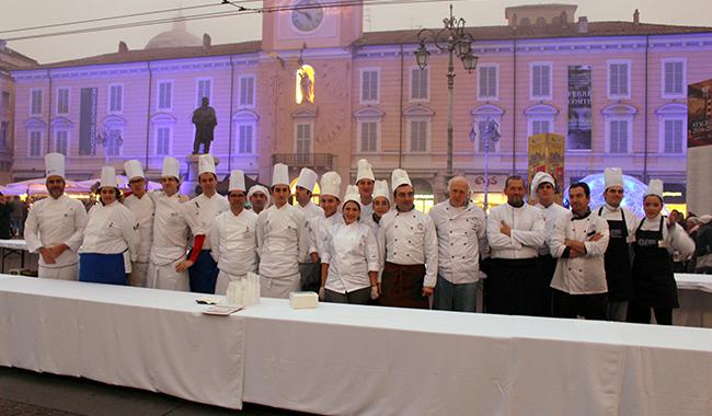 Parma Quality Restaurants, esordio ufficiale