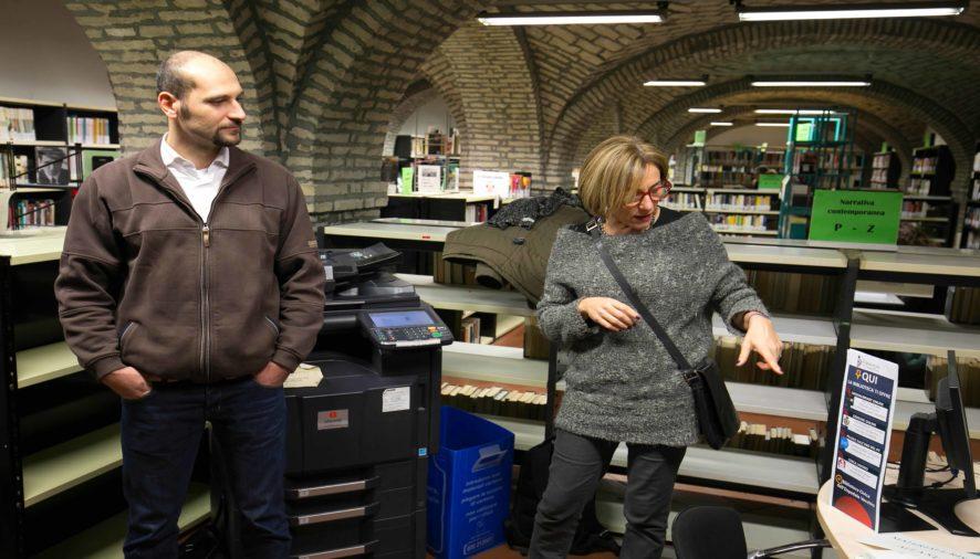 Inaugurato il Punto Servizio Digitale della Biblioteca civica