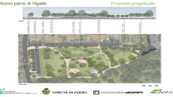 Presentato il nuovo Parco di Vigatto