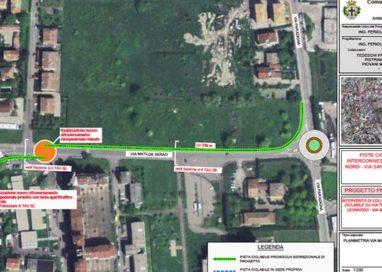 Via libera alla pista ciclabile da via San Leonardo a via Paradigna