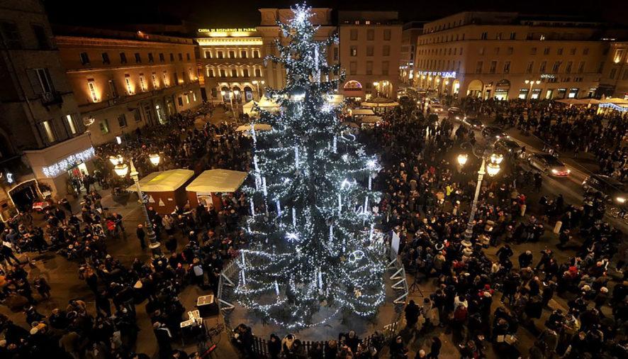 Parma, l'albero di Natale arriva da Asiago