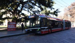 autobus 18 metri