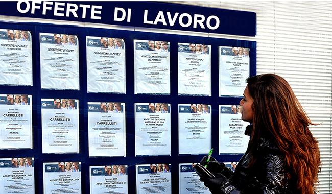 Disoccupazione in calo E per le donne è record