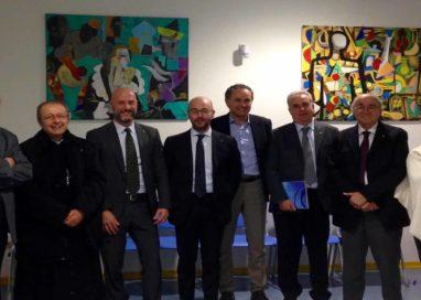 Il vescovo Enrico Solmi va in visita al Confartigianato