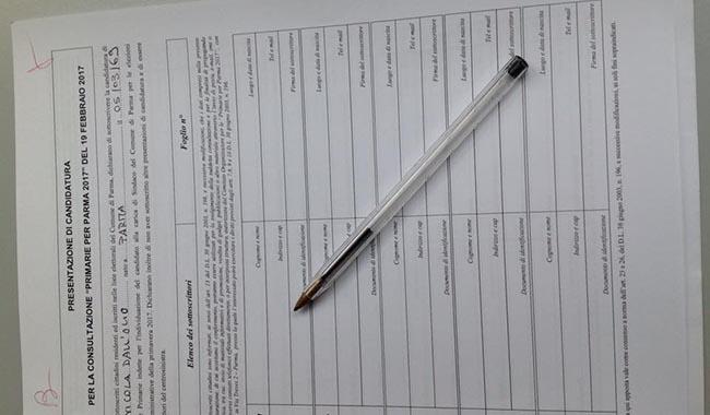 Primarie per Parma 2017, tutti i candidati presentano firme