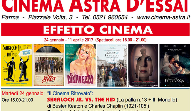 Effetto cinema all'Astra ogni martedì