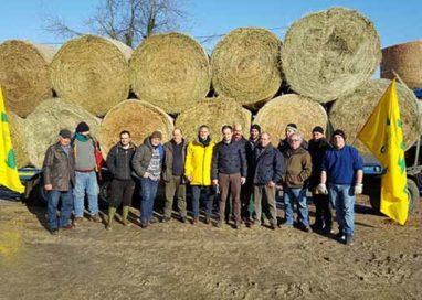 La Coldiretti dona agli allevatori di Ascoli Piceno 75 quintali di mangimi