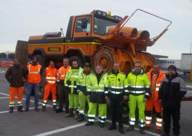 Dalla Provincia di Parma un aiuto ai terremotati sotto la neve