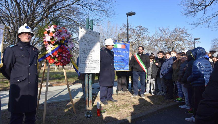 Commemorazione dei bambini ebrei di Parma deportati ad Auschwitz