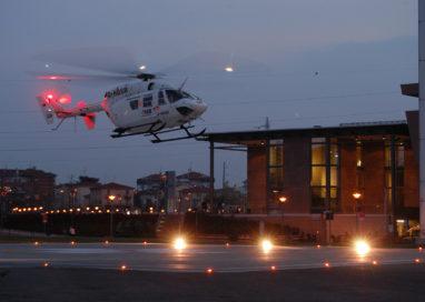 L'elisoccorso raddoppia: servizio attivo anche nelle ore notturne