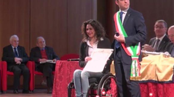 """Giulia Ghiretti: """"Bello ricevere un premio nella propria città"""""""