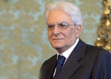 Il Presidente Sergio Mattarella in visita a Casa Cervi