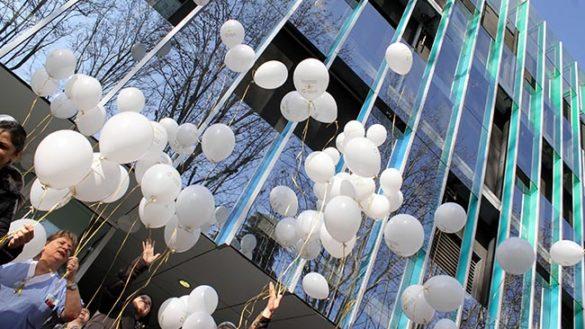 Lotta tumori infanzia: 100 palloncini in volo