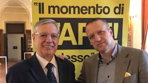 L'ex vicequestore Massimo Bax con FARE! alle amministrative