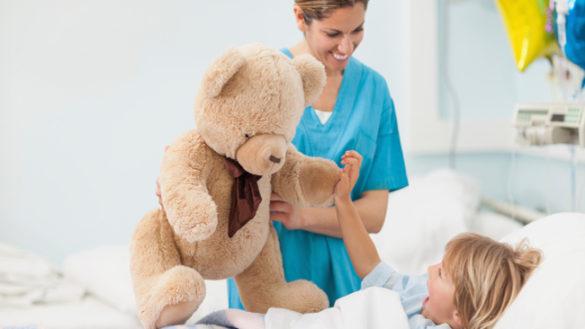 Solidarietà per i giovani dell'Ospedale dei bambini