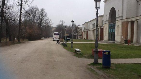Perché i bus parcheggiano nel Parco?