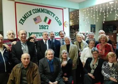 Bonaccini incontra gli emigrati parmigiani e piacentini di New York