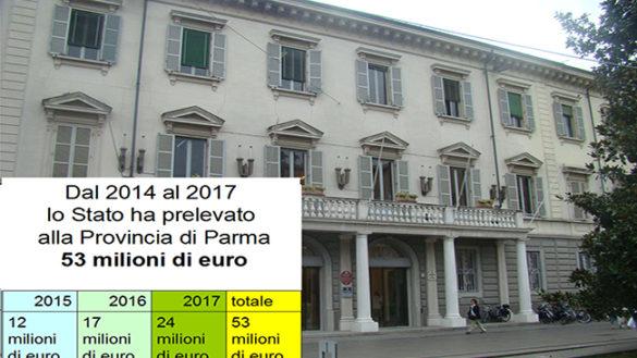 Fritelli contro il Governo: in tre anni 53 milioni di euro tolti alla Provincia