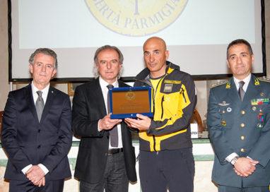 Premiato Gagliardi, eroe di Rigopiano