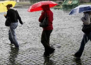 A Parma pioggia prevista per domenica e lunedì