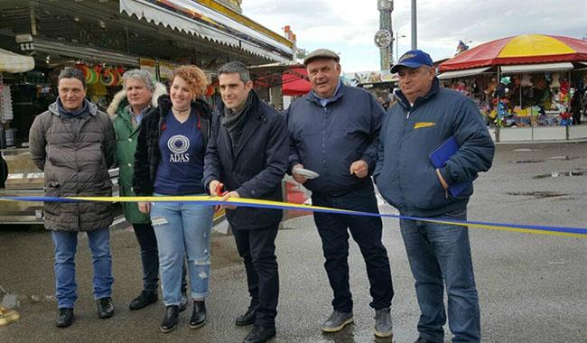 Luna Park, la pioggia rovina tour elettorale del sindaco