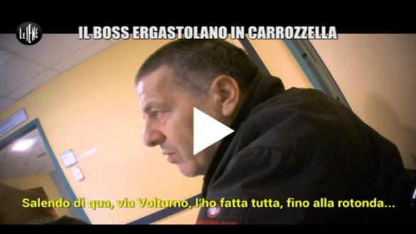 """Giulio Golia de Le Iene dal """"Boss ergastolano in carrozzella"""""""