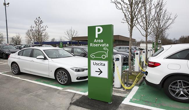 E' Barilla la più grande stazione italiana per la ricarica di auto elettriche