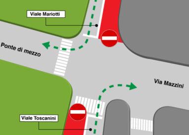 Ponte di Mezzo, le corsie riservate ai bus rispettate… sì, ma come?