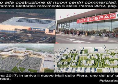 """2012: """"stop a nuovi centri commerciali"""". 2017: eccone altri cinque"""