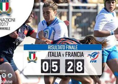 Rugby a Parma: 6nazioni donne, Italia-Francia 5-28