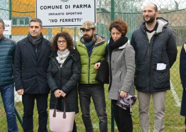 Intitolato a Ivo Ferretti il campo da calcio del centro sportivo Bruno Mora