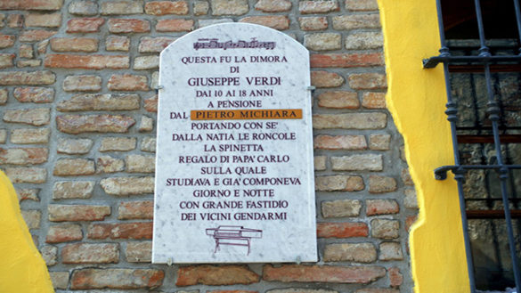 Busseto: si festeggia l'onomastico di Giuseppe Verdi