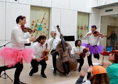 """""""Kekkosa stai suonando?"""", un concerto per i bambini di Oncoematologia"""