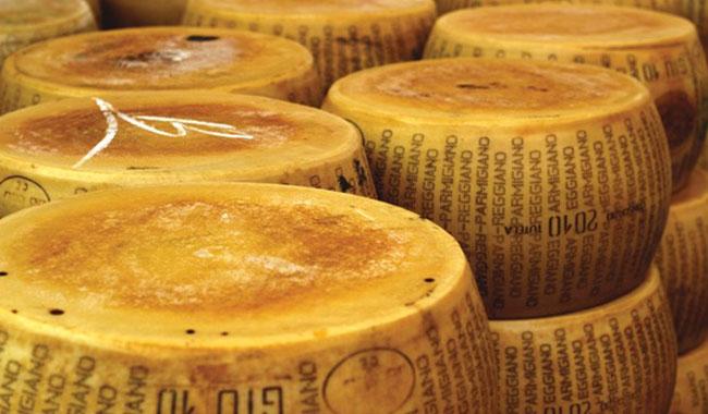 Nel 2017 prodotte 3 milioni e 650mila forme di Parmigiano-Reggiano