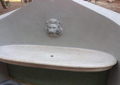 Completato il restauro della fontana del Complesso di San Paolo