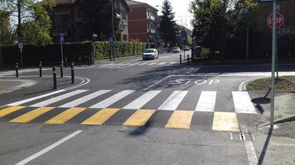 Istituita la zona 30 all'intersezione tra via Milano e via Ravenna