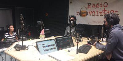 Lo studio di RadiorEvolution