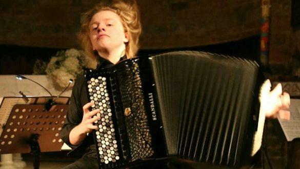 PARMA YOUNG. Andrea Coruzzi, il mago della fisarmonica