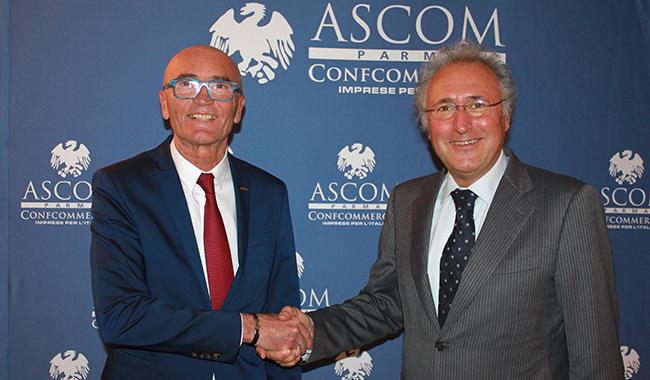 Vittorio Dall'Aglio nuovo Presidente Ascom, subentra a Margini