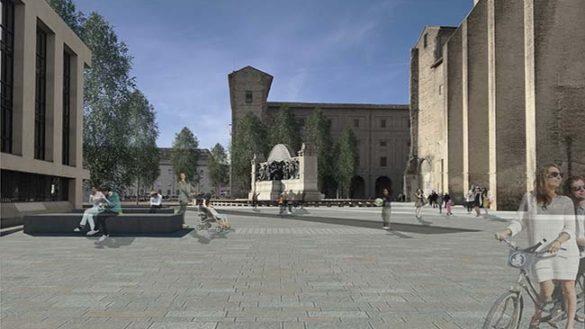 Piazza della Pace e il parco della Cittadella, ecco come saranno