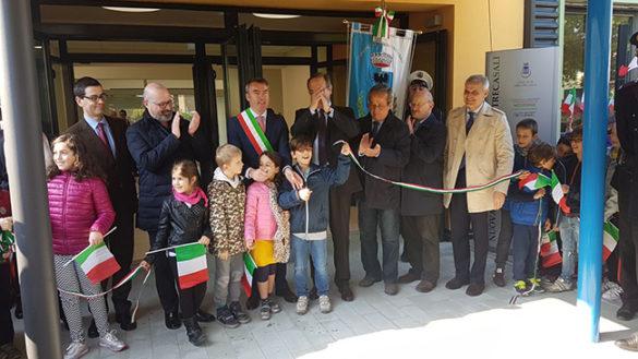 Trecasali: inaugurata la nuova scuola primaria antisismica