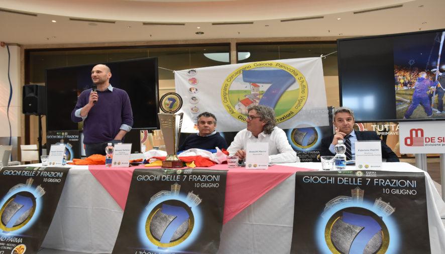 I Giochi delle 7 Frazioni quest'anno si svolgeranno all'Eurosia