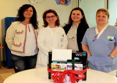 Arriva una Wii in dono agli adolescenti dell'Ospedale