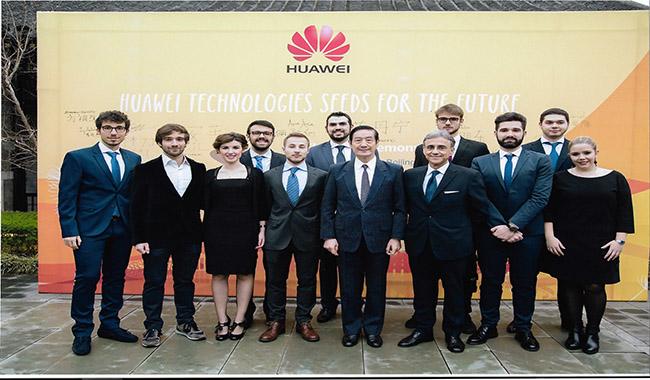 Dall'Università di Parma alla Cina, per Giulia Piselli un training alla Huawei